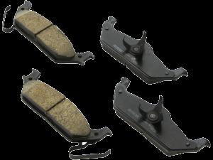Колодки тормозные задние Ford F-150 Raptor 2009- 2011