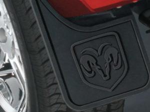 Брызговики задние Dodge Ram