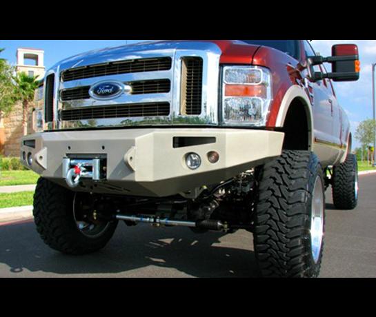 Бампер силовой передний Fabfours для Ford Super Duty