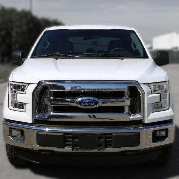 Комплект хромированных светодиодных фар Ford F-150